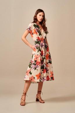 Vestido Acrylic estampado Bellerose