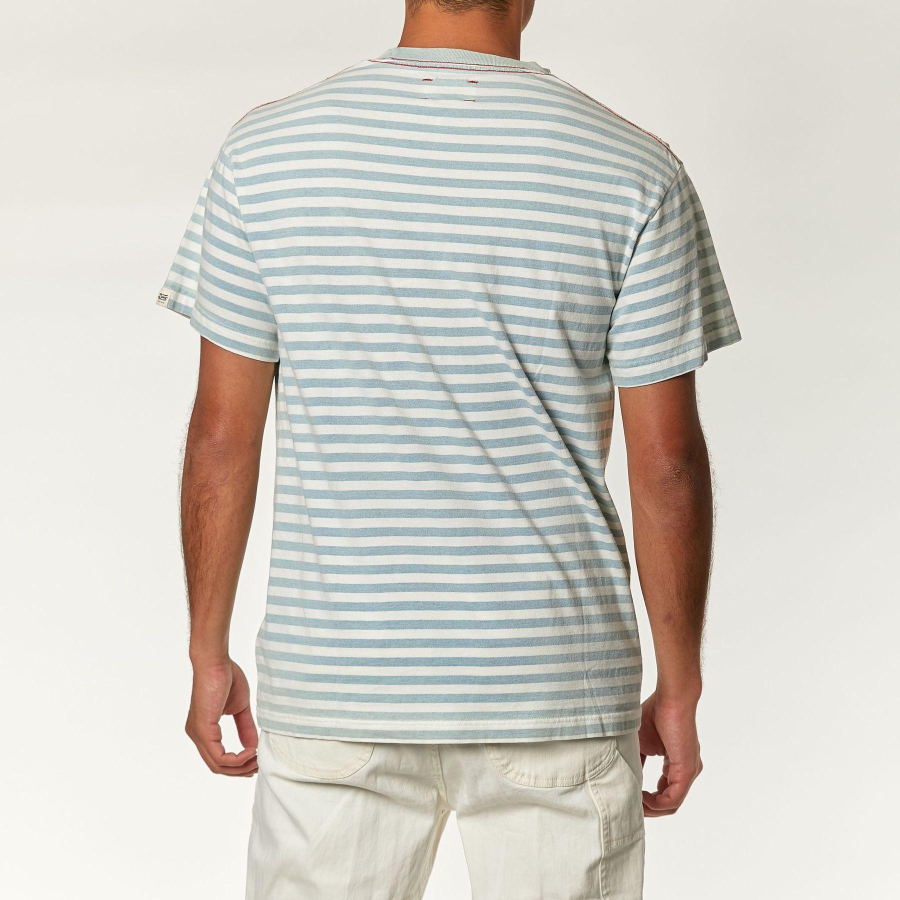 Camiseta indigo stripe deus ex machina