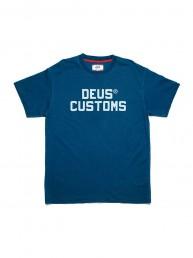 Camiseta twerkwear indigo Deus Ex Machina