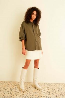 Camisa de algodón Semicouture