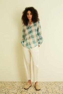 Camisa macro vichy Semicouture