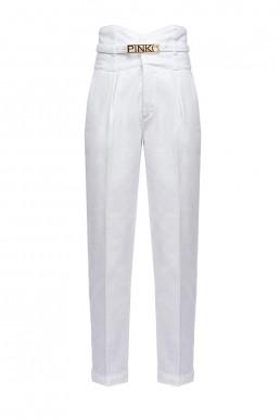 Pantalon de talle alto Pinko