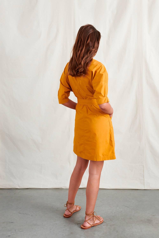 Vestido corto camisero Bellerose