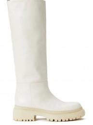 Botas altas de piel Semicouture