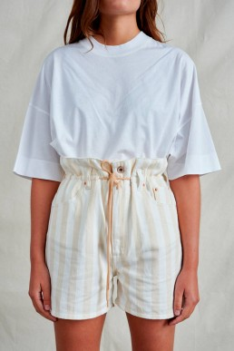 Shorts de lino Bellerose