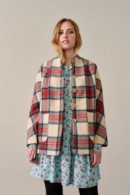 Chaqueta de lana virgen Bellerose