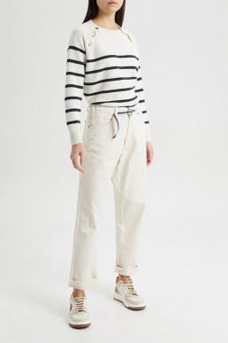 Pantalón con cordón Semicouture